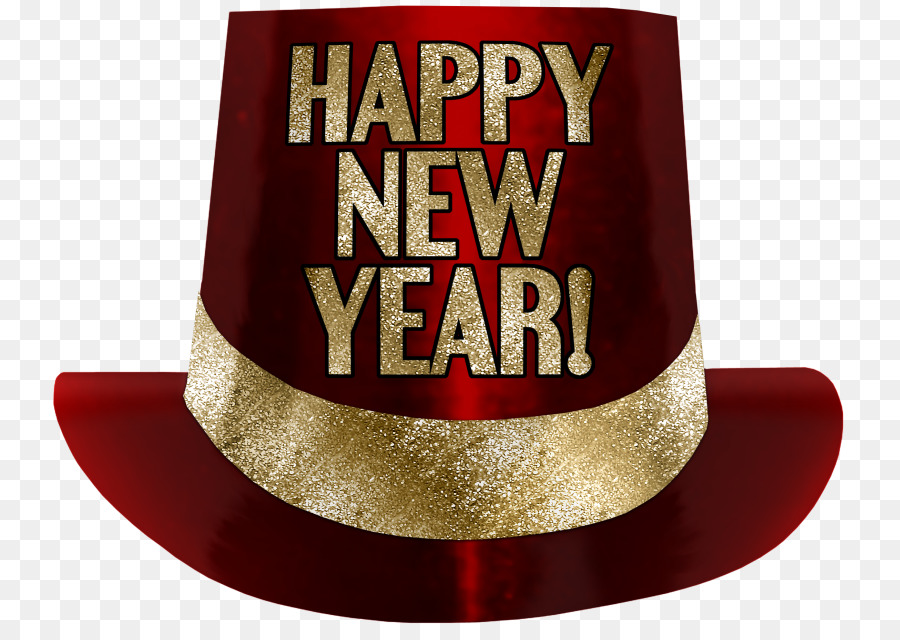 New years hat transparent background free clipart banner freeuse download Christmas And New Year Background png download - 800*631 - Free ... banner freeuse download