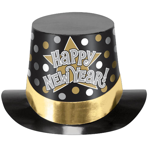 New years hat transparent background free clipart picture library stock New year hat clipart images gallery for free download | MyReal clip ... picture library stock