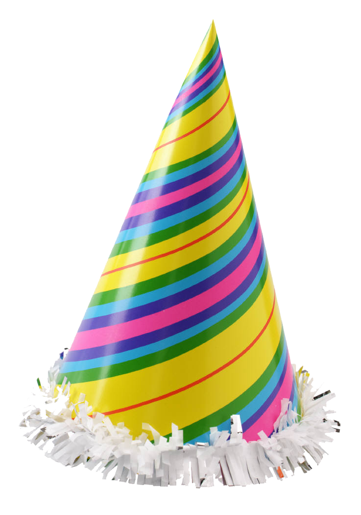 New years hat transparent background free clipart jpg royalty free library Party hat Clip art - Party Hat Transparent Background png download ... jpg royalty free library