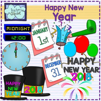 New years party clipart freeuse download New Year\'s Eve Party Clipart {2017-2018} freeuse download