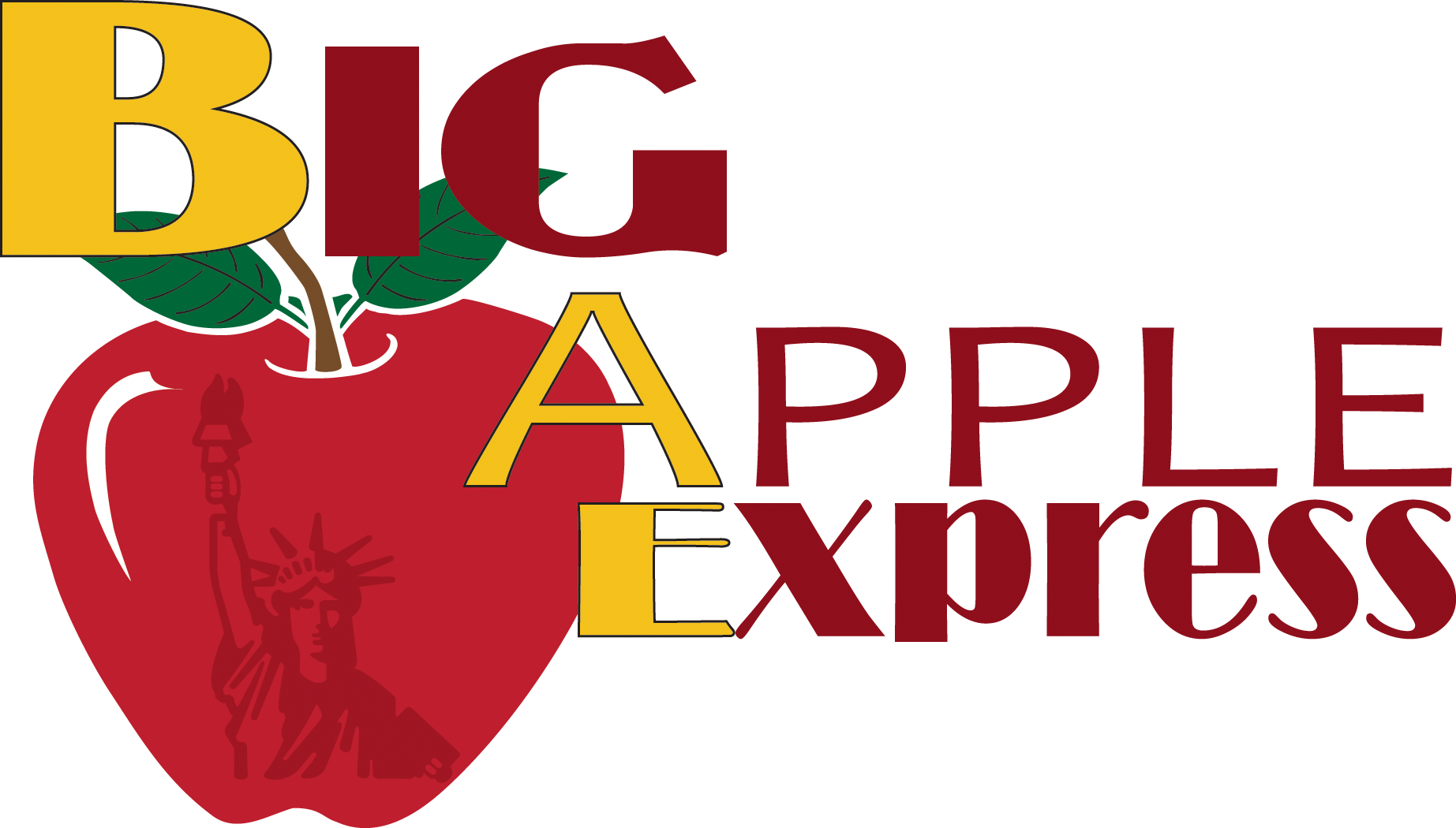 New york city clipart big apple jpg stock Big Apple Express to New York City jpg stock