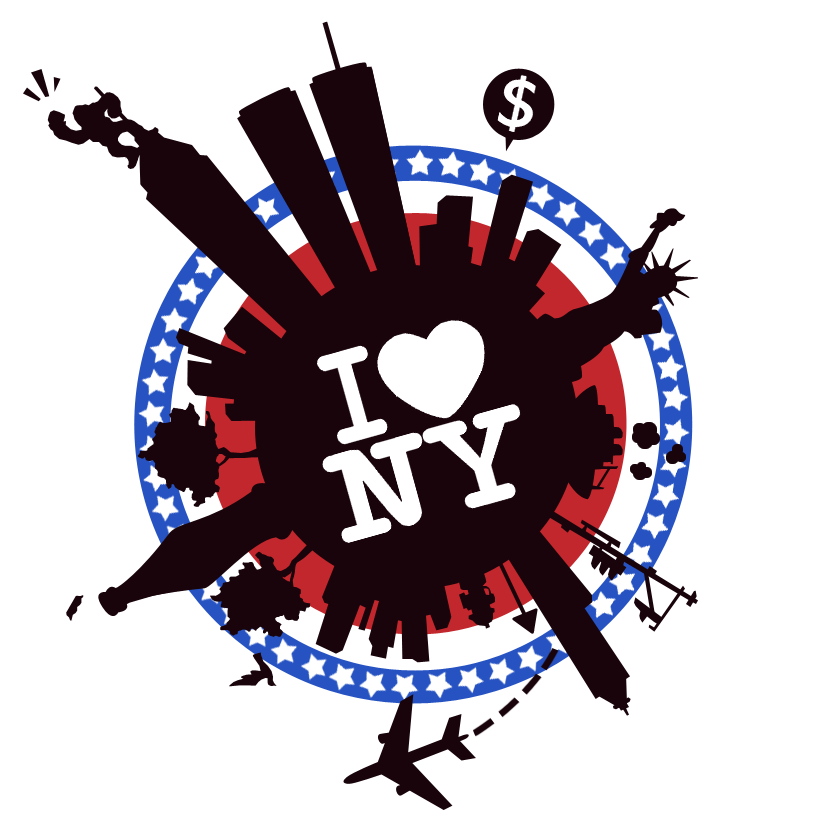 New york city clipart big apple vector library library I Love NY - Lil' Big Apple by Eniotna on DeviantArt vector library library