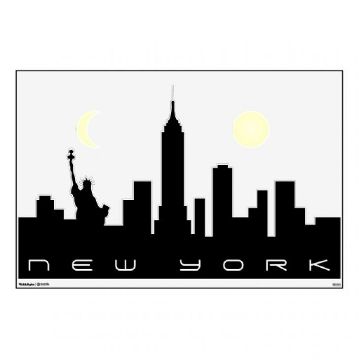 New york city free clipart black and white vector royalty free library new york city skyline black and white clipart | www ... vector royalty free library