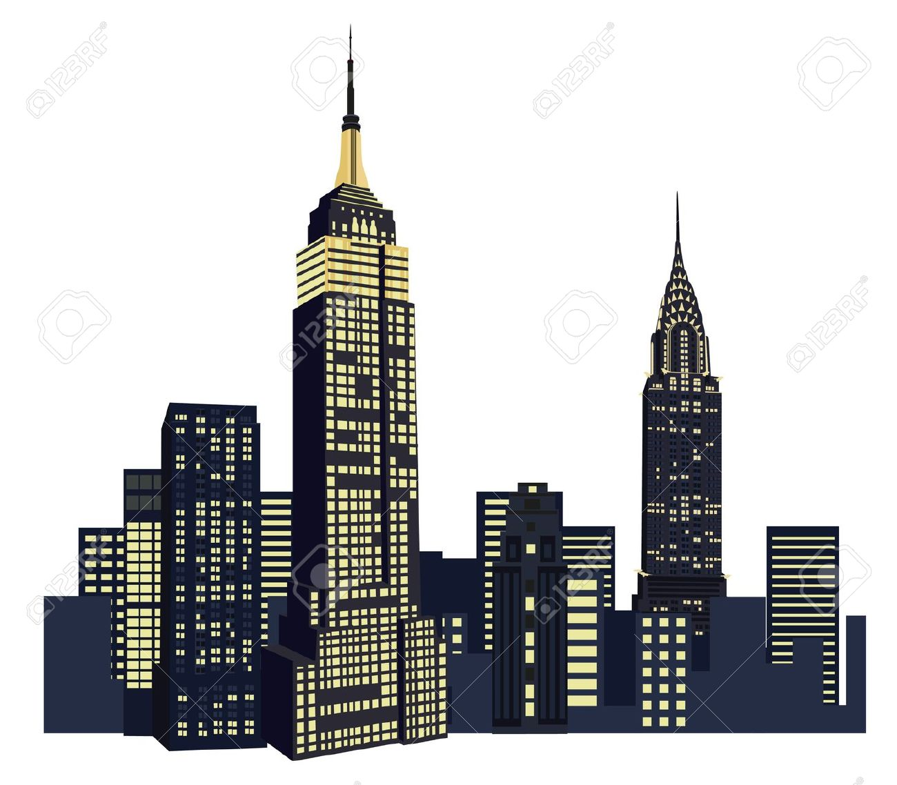New york city illustration clipart freeuse stock 9+ New York Clipart | ClipartLook freeuse stock