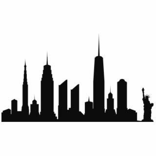 Ny skyline clipart jpg freeuse library Birds Eye View New York City Skyline - Picsart Alone Boy Background ... jpg freeuse library
