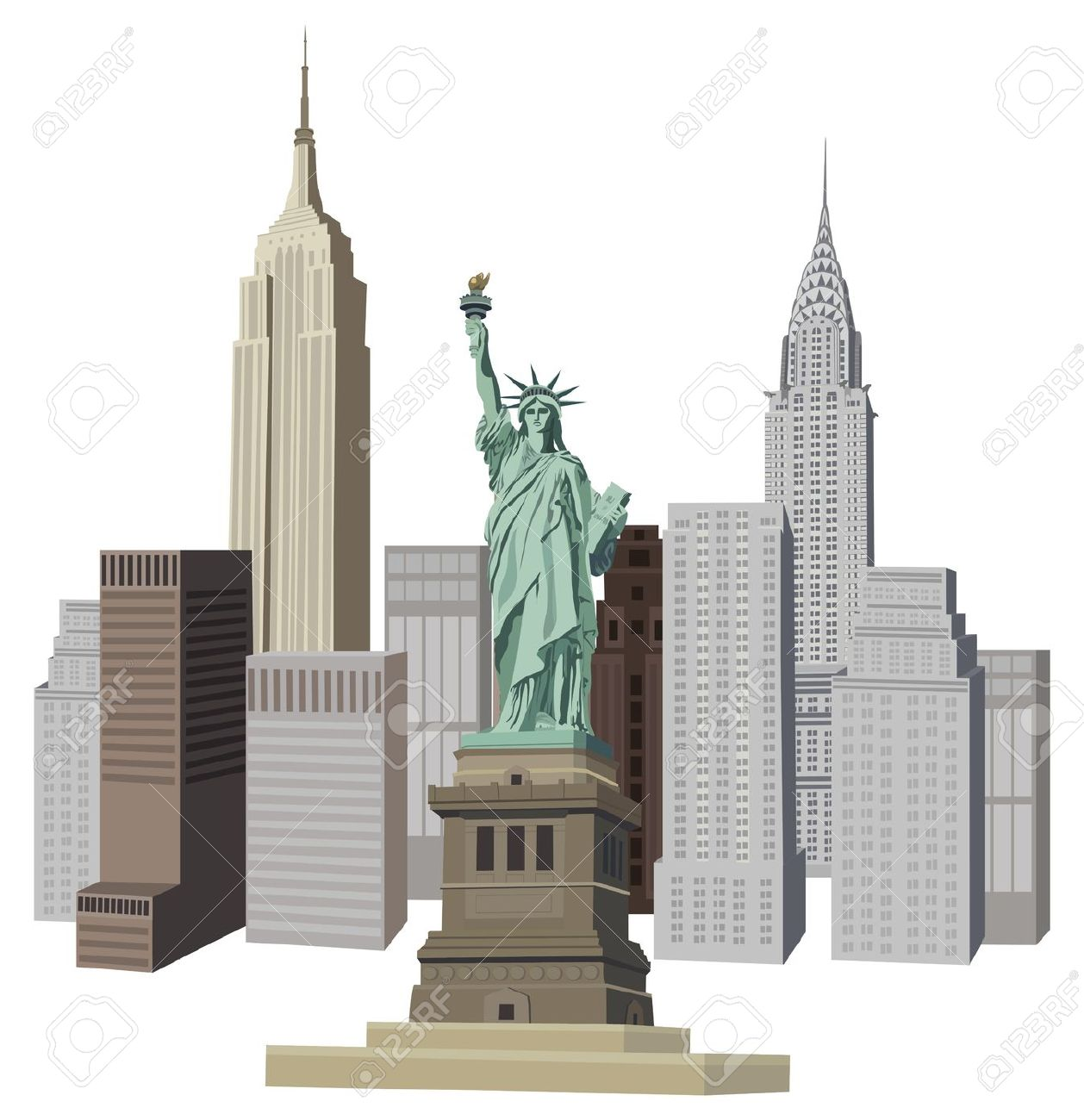 New york clipart images image black and white library New York Clip Art Free | Clipart Panda - Free Clipart Images image black and white library