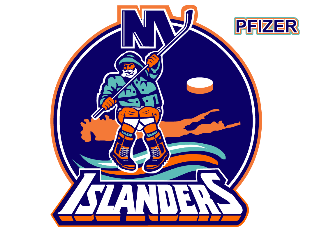New york islanders logo clipart vector stock BTLNHL #20: New York Islanders | Hockey By Design vector stock