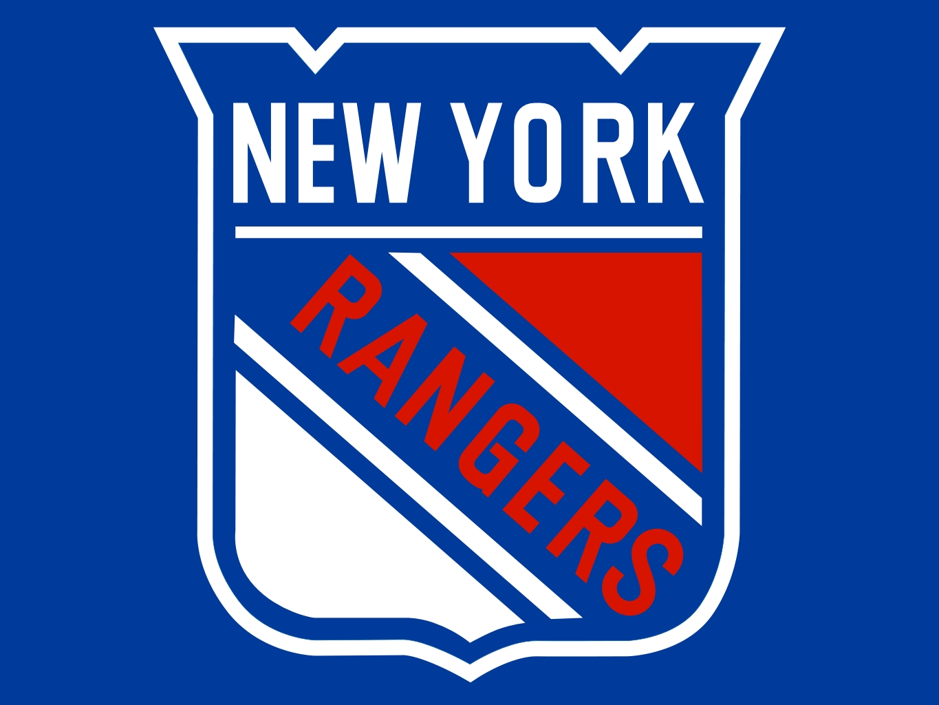 New york islanders logo clipart image black and white stock Sean Day Inks Entry-Level Deal With The New York Rangers image black and white stock