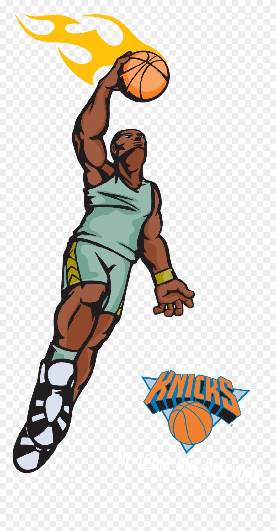 New york knicks clipart jpg freeuse stock Slam Dunk Clipart At Getdrawings - New York Knicks Vol. 1 Go ... jpg freeuse stock