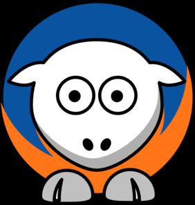 New york knicks clipart free stock Sheep New York Knicks Team Colors Clip Art at Clker.com ... free stock