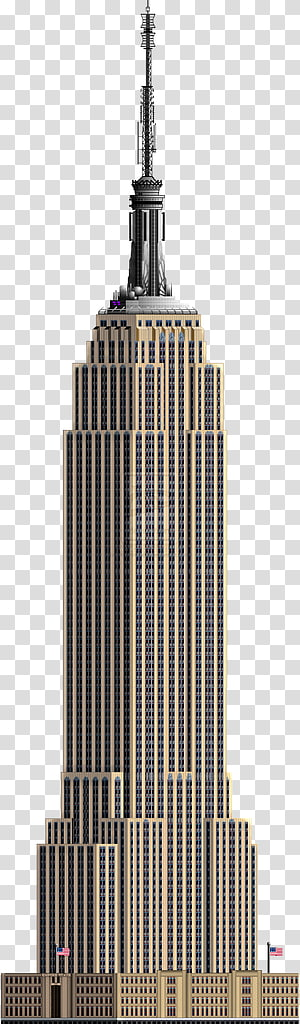 New york life clipart png transparent Empire State Building Skyline Watercolor painting City ... png transparent