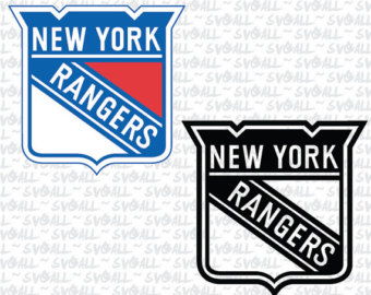New york rangers logo clipart picture free library New york rangers | Etsy picture free library
