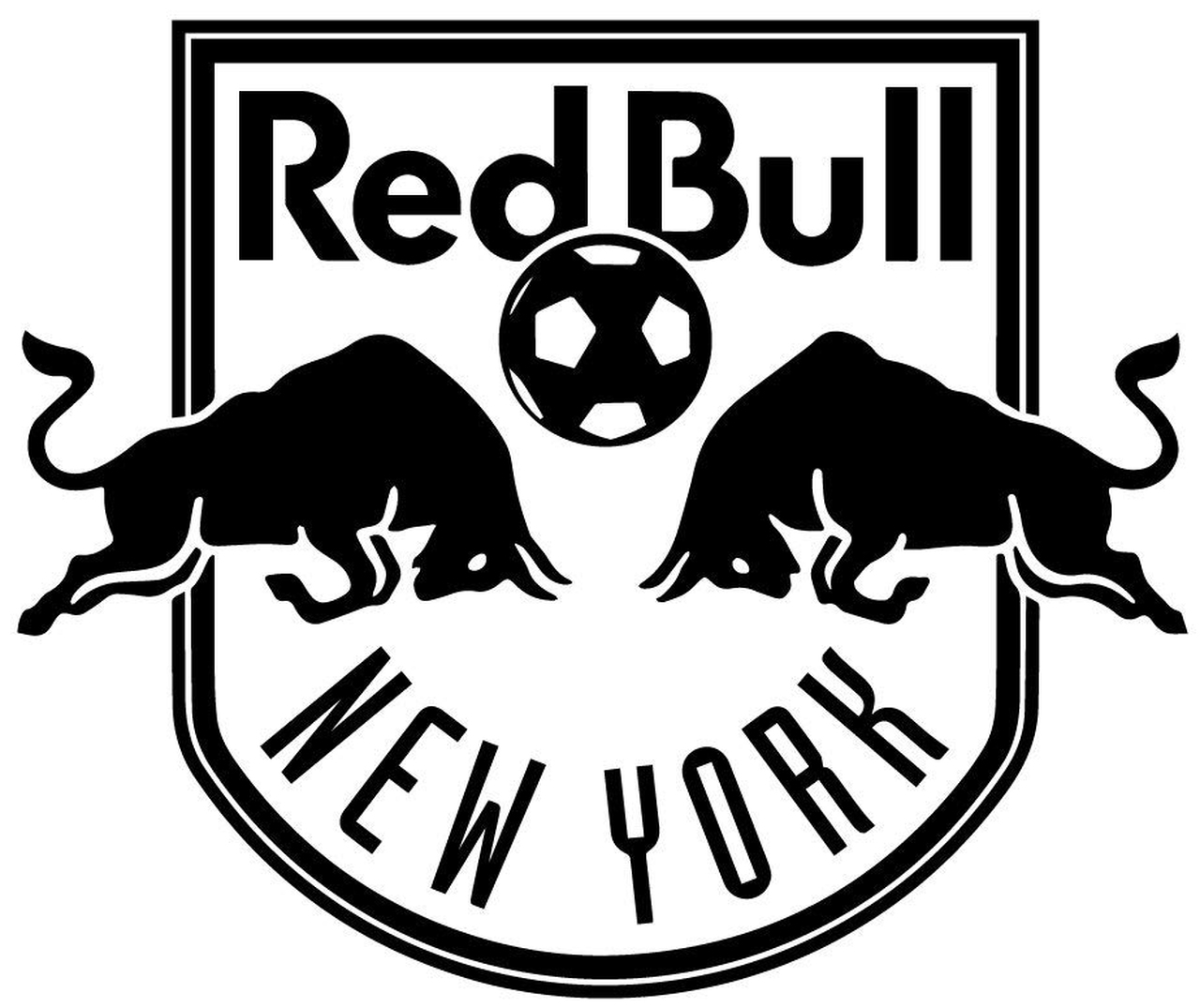 New york red bulls clipart picture royalty free New York Red Bulls Mls Vinyl Decal picture royalty free