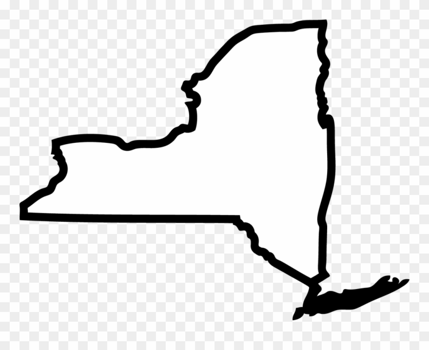 New york state clipart png download New York - New York City State Outline Clipart (#3513141) - PinClipart png download