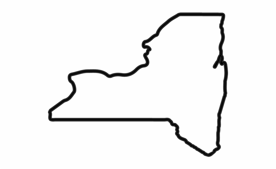 New york state clipart vector library download New York State Outline - New York Outline Free PNG Images & Clipart ... vector library download