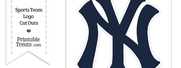 New york yankees clipart logo banner black and white Ny yankees logo clipart - ClipartFest banner black and white