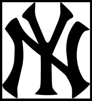 New york yankees clipart logo vector free library New york yankees clipart free - ClipartFest vector free library