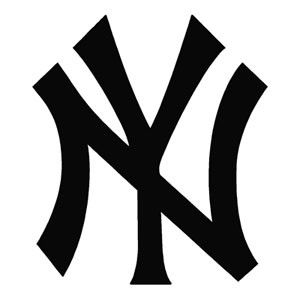 New york yankees clipart logo jpg free stock New york yankees clipart black and white - ClipartFest jpg free stock