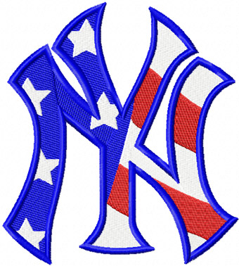New york yankees clipart logo transparent download New+York+Yankees | New York Yankees Flag logo machine embroidery ... transparent download