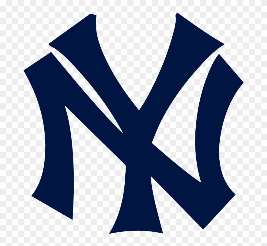 Yankees logo clipart svg black and white download New York Yankees Logo - New York Yankees Logo Evolution Clipart ... svg black and white download