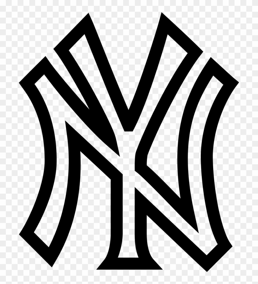 New york yankees symbol clipart png transparent library New York Yankees Logo Font Boliviaenmovimiento Net - New York ... png transparent library