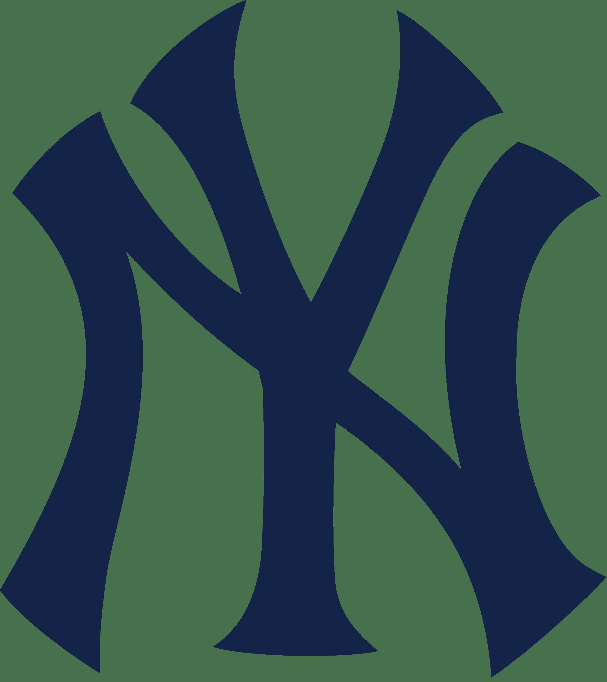Yankees logo clipart svg free New York Yankees Logo NY transparent PNG - StickPNG svg free