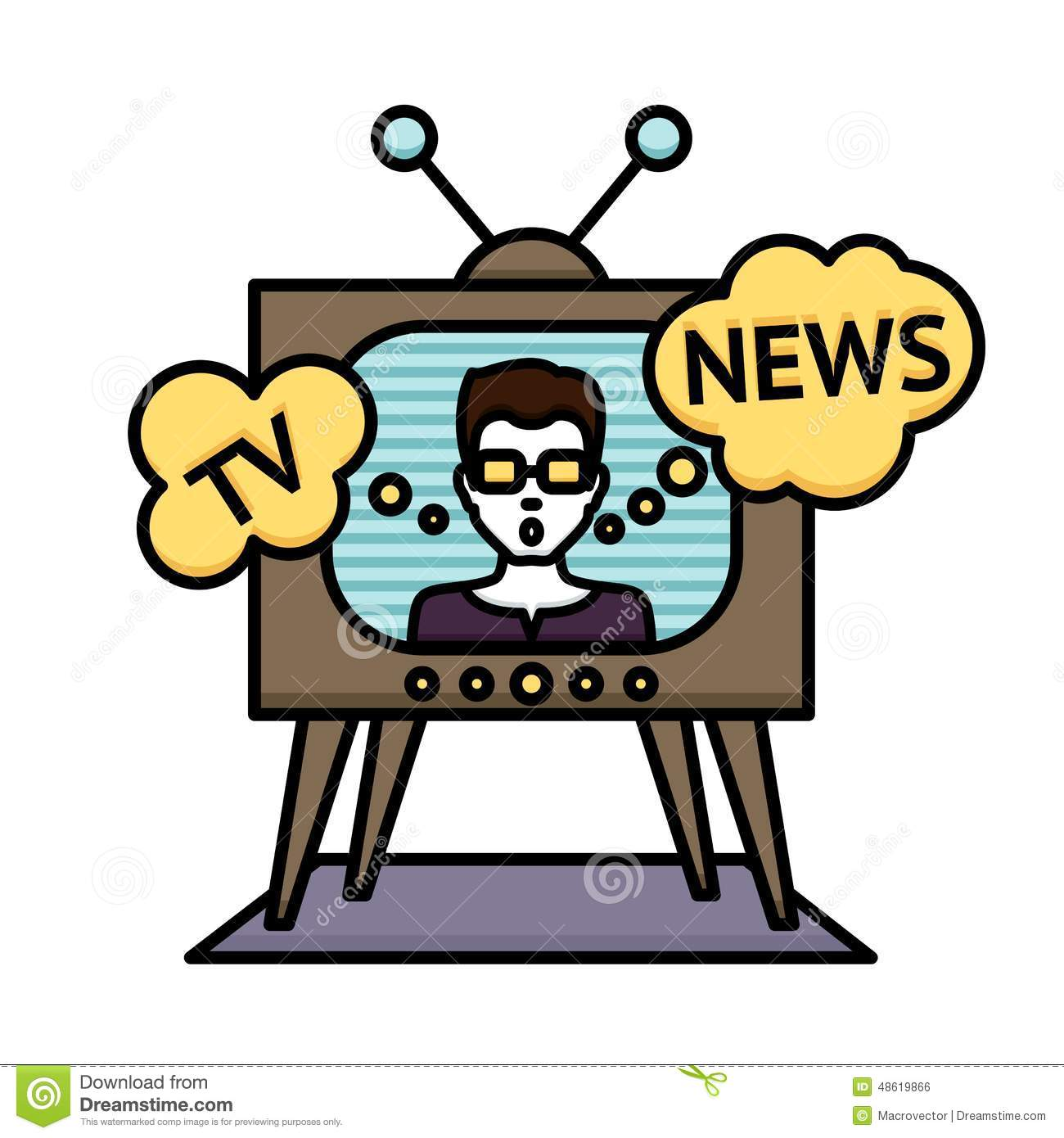 News channel clipart clipart free library Television Clipart | Free download best Television Clipart ... clipart free library