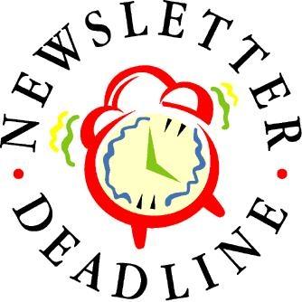 Newsletter deadline clipart graphic freeuse library Newsletter Deadline Cliparts - Cliparts Zone graphic freeuse library