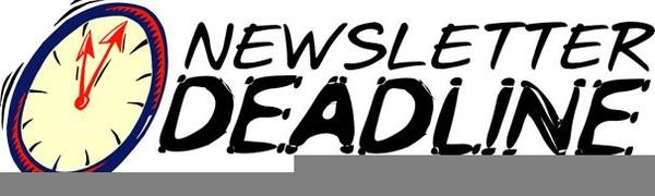 Newsletter deadline clipart clipart Church Newsletter Clipart (98+ images in Collection) Page 2 clipart