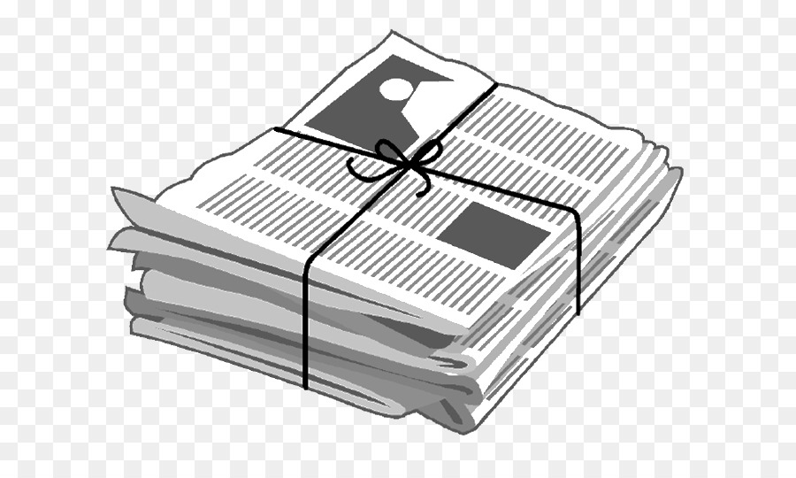 Newspaper clipping clipart