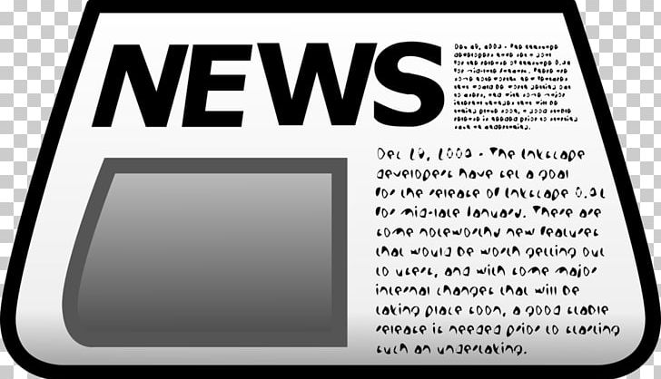 Newspaper clipping clipart png free library Newspaper Graphics Headline PNG, Clipart, Area, Blank, Brand ... png free library