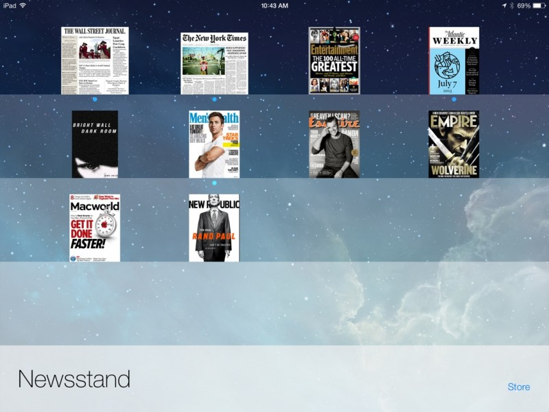 Newsstand app iphone clipart black and white download Apple to Discontinue Newsstand, Launch Free Flipboard-Like App to ... clipart black and white download