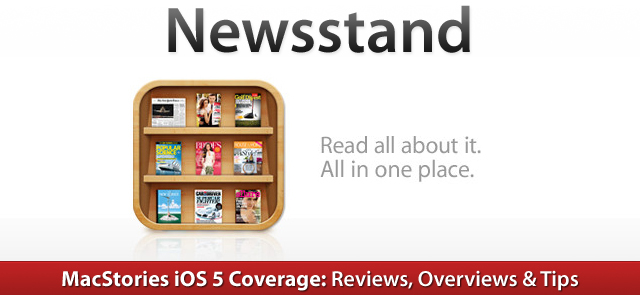 Newsstand app iphone svg freeuse stock iOS 5: Newsstand Overview – MacStories svg freeuse stock