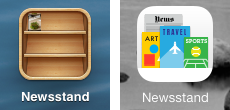 Newsstand app iphone clipart royalty free How iOS 7's Newsstand Hurts Publishers - TidBITS clipart royalty free