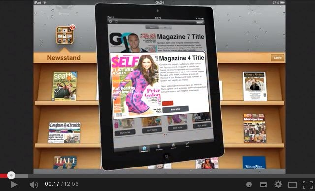 Newsstand app iphone clip Publishing an iPad Magazine App to Apple's NewsStand – part 1 ... clip