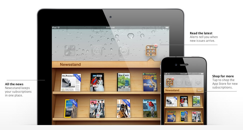 Newsstand app iphone jpg freeuse library Newsstand for iOS - digital magazine apps for iPhones and iPads ... jpg freeuse library