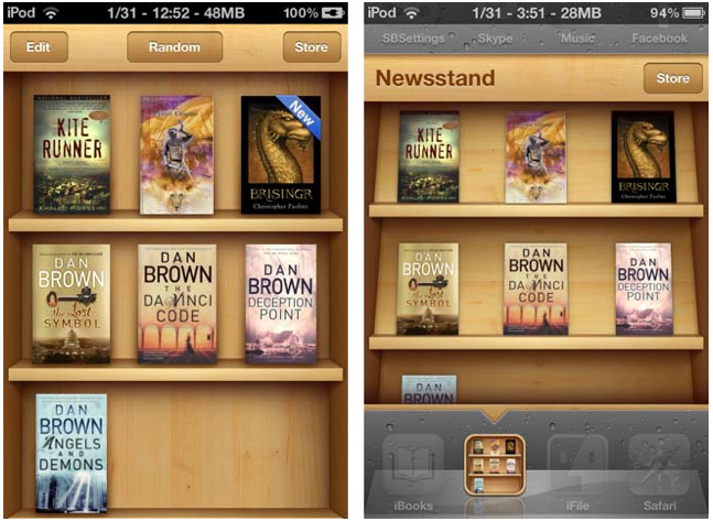 Newsstand app iphone svg stock Download 'Booksstand' & Put iBooks Inside Newsstand [Cydia ... svg stock