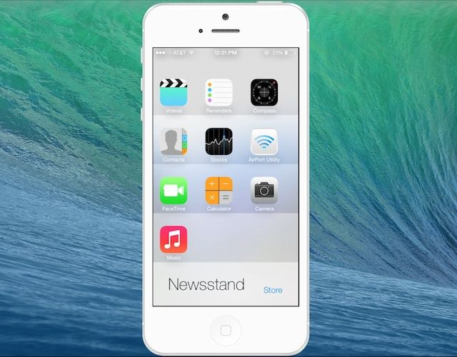 Newsstand app iphone svg free download iOS 7 Bugs Lets You Hide Apps In Newsstand | iPhone-Developers svg free download