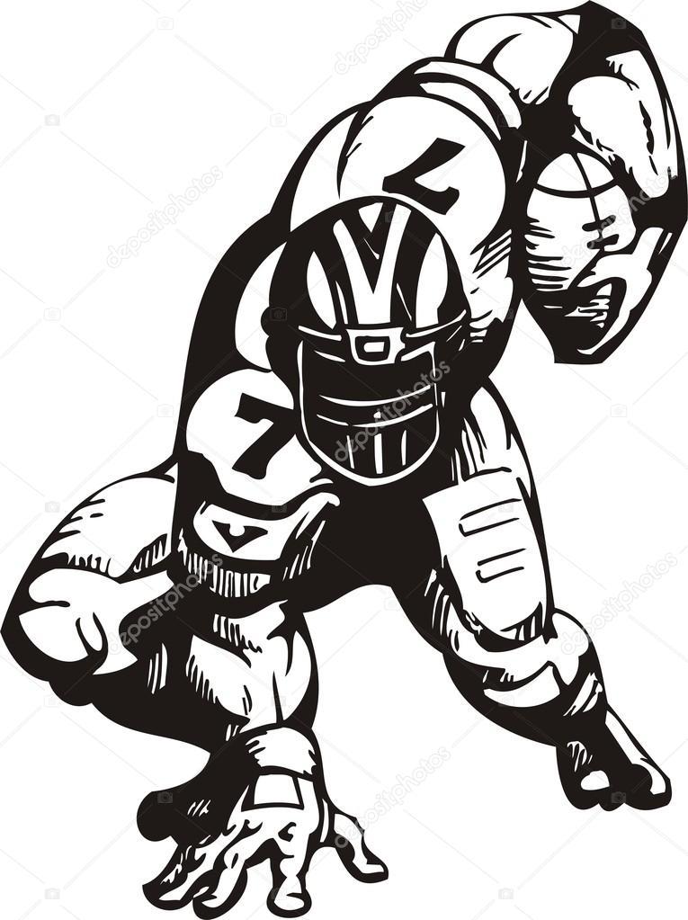 Nfl football character clipart jpg transparent download American Football. — Stock Vector © Digital-Clipart #4901164 jpg transparent download