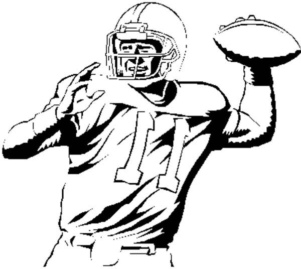Nfl football character clipart image freeuse download Nfl Football Players Drawings - ClipArt Best image freeuse download