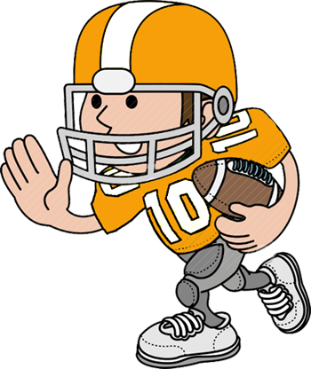 Nfl football character clipart svg freeuse stock Football Player Clipart | Free Download Clip Art | Free Clip Art ... svg freeuse stock