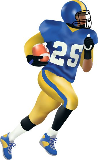 Nfl football character clipart clip free download Football Player Clipart - Clipartion.com clip free download
