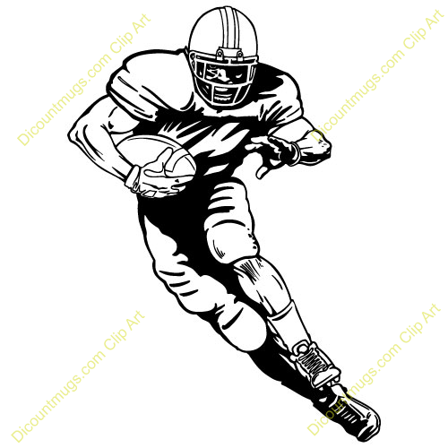 Nfl football character clipart image download Mean Football Player Clipart | Clipart Panda - Free Clipart Images image download