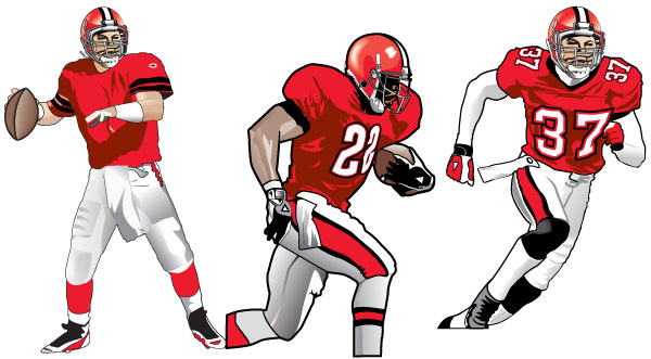 Nfl football character clipart picture royalty free download Drawing Of A Football Player | Free Download Clip Art | Free Clip ... picture royalty free download
