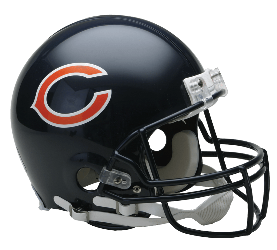 Nfl football helmet clipart clipart freeuse library Chicago Bears Helmet transparent PNG - StickPNG clipart freeuse library