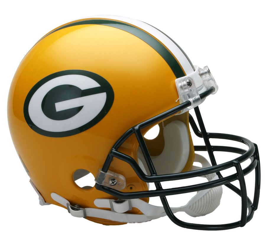 Nfl football helmets clipart png free stock Green Bay Packers VSR4 Authentic Helmet - NFC North - NFL ... png free stock