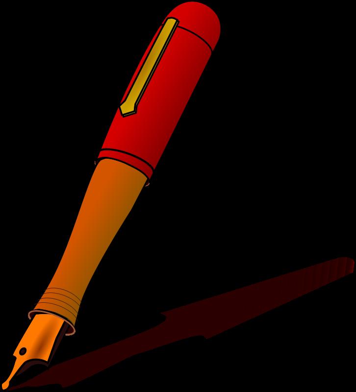 Teacher pen clipart