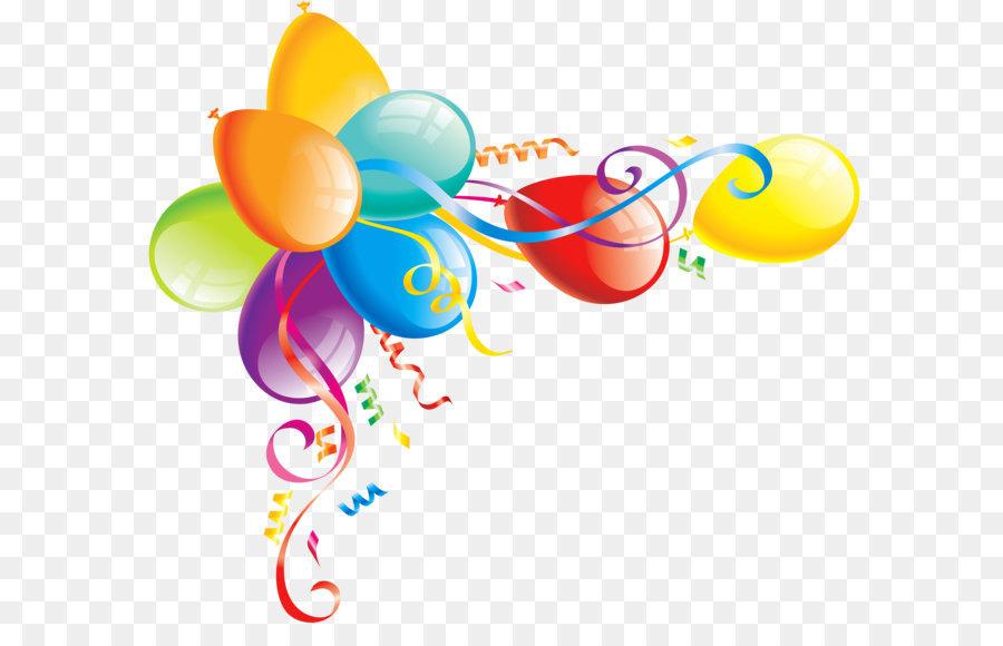 Nice clipart birthday jpg library library Birthday Cake Balloon Clip Art Large Transparent Balloons ... jpg library library
