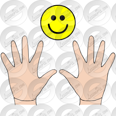Nice hands clipart clip free Nice Hands Picture for Classroom / Therapy Use - Great Nice Hands ... clip free
