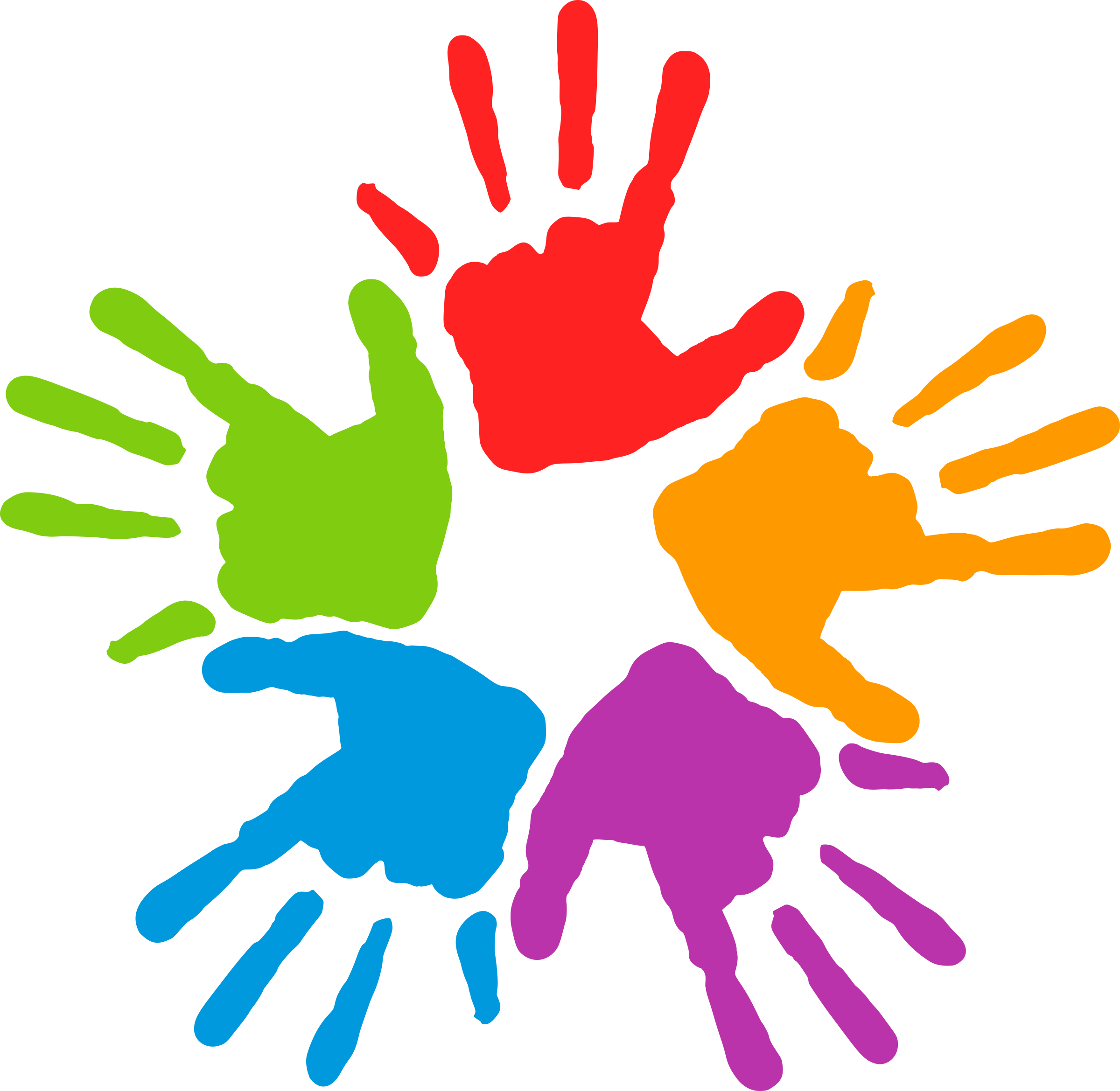 Nice hands clipart clip art library mans by @fofo, Hands of different colors., on @openclipart ... clip art library